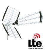 König ANT-UHF51L-KN DVB-T/T2 antenni, 15 dB, 31 elementtiä, LTE800 suojattu