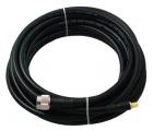 Antennikaapeli mittatilauksena: 3G/4G/5G/WLAN-antennikaapeli LMR-400, ultra low-loss, 10,29 mm, N-, SMA- tai RP-SMA-liittimillä