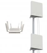 4G/5G-paketti 5G-kattavuusalueelle: Telewell 5G-modeemi + 4G/5G 4x4 MIMO ympärisäteilevät antennit