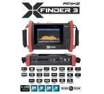 """Amiko X-Finder 3 satelliitti-, antenni- ja kaapelimittari & spektrianalysaattori, DVB-S2/T2/C viritin, 7"""" LCD-näyttö, HEVC"""