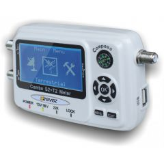 Revez STC60 satelliitti- & antennimittari, DVB-S2 & DVB-T2