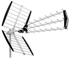 Finnsat UHF28 DVB-T/T2 antenni, 15 dB, 28 elementtiä, LTE700 & LTE800 suojattu