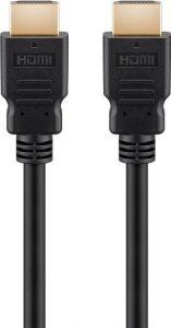 HDMI 2.1 yhteensopiva Ultra High Speed with Ethernet kaapeli, 8K@60Hz, 3D, 2 m