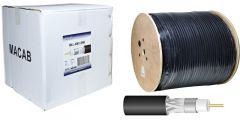 WLAN/GSM/3G/4G kaapeli, MLL-400, ultra low-loss, LSNH, 10,29 mm (metrihinta)