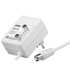 Goobay antennilinjavahvistin, 47-862 MHz, 2 x 15 dB, 2 ulostuloa