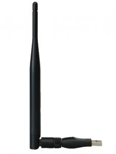 AB-COM CryptoBox WiFi-sovitin + vaihdettava antenni, 150 Mbit/s, 5 dBi
