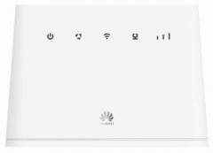Huawei B311-221 4G/LTE-modeemi & WiFi-reititin, 1 x SMA naaras liitäntä ulkoiselle antennille, EURO versio, operaattorivapaa