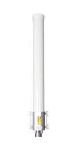 Finnsat FS3500 3G/4G/LTE/5G/GSM/WiFi MIMO ympärisäteilevä antenni, 698-5000 MHz, 2 x 6 dBi, 2 ulostuloa