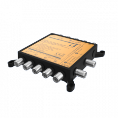 Inverto Unicable II ohjelmoitava/ketjutettava multikytkin 32  virittimelle, 4 liitäntää Universal/Wideband mikropäälle
