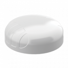Poynting PUCK-5 3G/4G/5G/LTE/GSM/WiFi/GPS-antenni, MIMO, IP68, 698-3800 MHz, 6 dBi, 2 m kaapelit, valkoinen