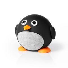 Nedis Animaticks-Bluetooth-kaiutin, 3 tunnin käyttöaika, Hands-free-puhelut, Pippy-Pingviini