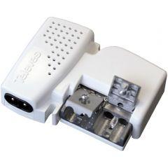 Televés 560543 virtalähde antennivahvistimille & vahvistin, 12 V, 150 mA, 0-20 dB, 3 ulostuloa