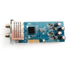 Vu+ viritin FBC Dual (tuplaviritin) 2 x DVB-S2X (satelliitti) Vu+ Uno 4K, Uno 4K SE, Duo 4K, Duo 4K SE & Ultimo 4K varten (8 x Unicable-mikropään kanssa)