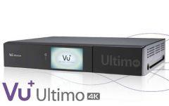 Vu+ Ultimo 4K UHD-digiboksi, 8-18 viritintä