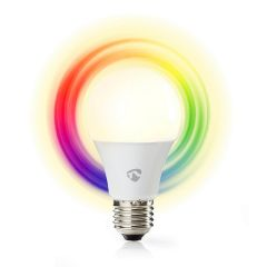 Nedis SmartLife LED-älylamppu, WiFi, E27, 470 lm, Monivärinen