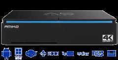 Amiko A5 combo 4K/UHD, DVB-S2+T2/C, Android 7.1 - ASIAKASPALAUTUS