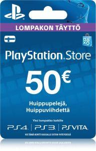 Sony Playstation Network (PSN) kortti 50 €