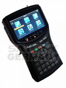 """Satlink WS-7002 HD satelliittimittari & spektrianalysaattori, DVB-S2 viritin, 4,3"""" LCD-näyttö, DiSEqC 1.2"""
