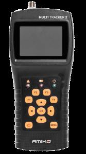 Amiko Multitracker 2 satelliitti-, antenni- ja kaapelimittari & spektrianalysaattori, DVB-S2/T2/C viritin, LCD-näyttö, HEVC