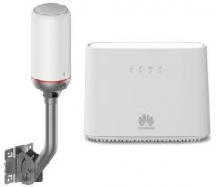 Huawei B2368-66 (DNA Ulkomokkula 4G+ WLAN) modeemi & antenni