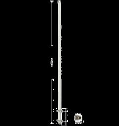 DeLOCK 89538 WiFi ympärisäteilevä antenni, 2,4/5 GHz, 12 dBi, 802.11b/g/n, N naaras