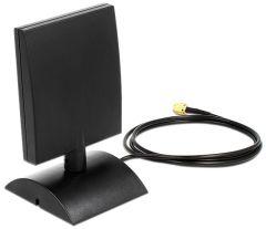 DeLOCK 88903 WiFi ympärisäteilevä antenni, 802.11a/b/g/n/ac, 2,4/5 GHz, 6-8 dBi