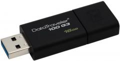 Kingston DataTraveler 100 G3 USB-tikku, 16 Gt, USB 3.0