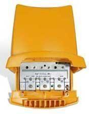 Televés 535840 UHF/UHF/VHF/FM mastovahvistin ja yhdyssuodin, 38 dB, 1 ulostulo, LTE800 suojattu - ASIAKASPALAUTUS
