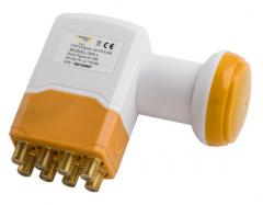 Golden Media GM-208 + High Gain Octo Universal LNB mikropää, 0,1 dB