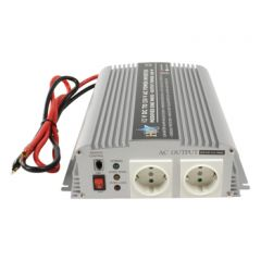 HQ Invertteri 12 V > 230 V, 1000 W, USB