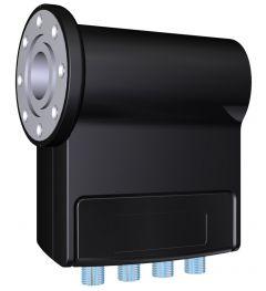Inverto Pro Quad Universal LNB mikropää, C120 laippakiinnitys