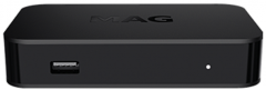 Infomir MAG420 IPTV-digiboksi, ilman kanavia