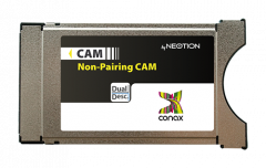 Neotion Conax CAM maksukortinlukija, Dual Descrambling - käytetty