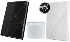 3G/4G/LTE-paketti lähes kaikkialle: Huawei B315s modeemi + 700-2600 MHz paneeliantennit