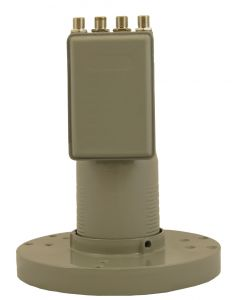 PR400C C-Band Quad 13K Dual polarization LNB, scalar ring included