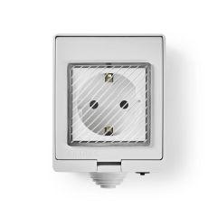 Nedis SmartLife pistoke ulkokäyttöön, IP55, WiFi, 16 A