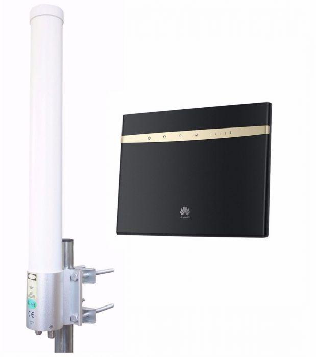 3G/4G/LTE/4G+/LTE-A Ship Set: Huawei 4G+ modem + best antenna for ships