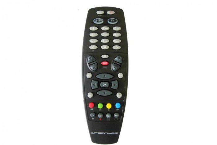 Dreambox Remote Control for Dreambox 600, 500, 800HD, 800HD SE & 7020HD,  black