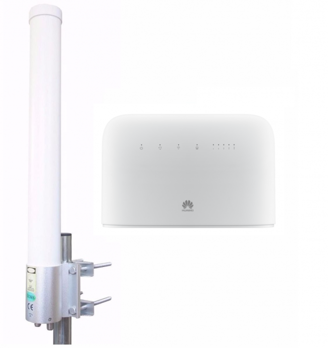 3G/4G/LTE/4G+/LTE-A Ship Set: Huawei 4G+ modem + best antenna for ships