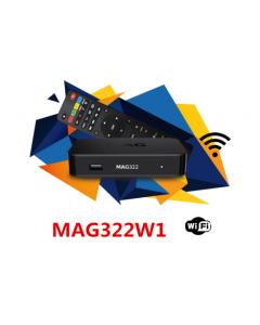 Infomir MAG322 W1 IPTV-digiboksi, WiFi, ilman kanavia