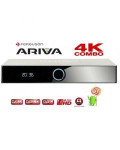 Ferguson Ariva 4K Combo 4K/UHD-digiboksi, DVB-S2 + T2/C, Android 5.1.1
