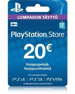 Sony Playstation Network (PSN) kortti 20 €