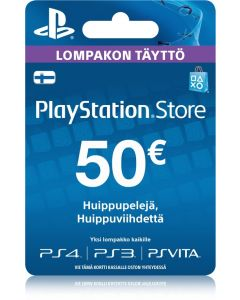 Sony Playstation Network (PSN) kortti 50 €