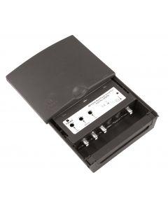 Triax MFA 656 UHF/VHF/FM mastovahvistin (35/22/15 dB) ja yhdyssuodin, 1 ulostulo, LTE800 suojattu