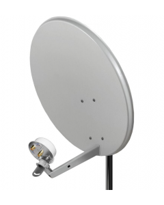 3G/4G/LTE lautasantenni, 1800-2100 MHz, 1 ulostulo