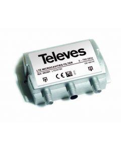 Televés 403301 LTE800-suodatin DVB-T/T2 signaaleille, passiivinen