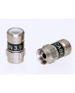 Cabelcon Self Install F-pikaliitin, F-59-SI 3.9, RG-59 kaapeleille