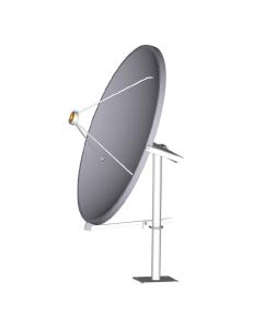 Aerial AS18 satelliittiantenni 180 cm, alumiini, primefocus - Ei palautusoikeutta