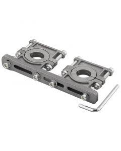 Universal Multifeed sivusyöttö 2 mikropäälle, 3-6,2°, alumiinia