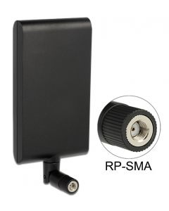 DeLOCK 88904 WiFi ympärisäteilevä antenni, 802.11a/b/g/n/ac, 2,4/5 GHz, 7,5-10 dBi